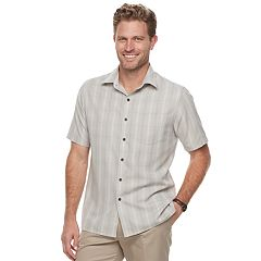 Men's Croft & Barrow  Microfiber Button-Down Shirt