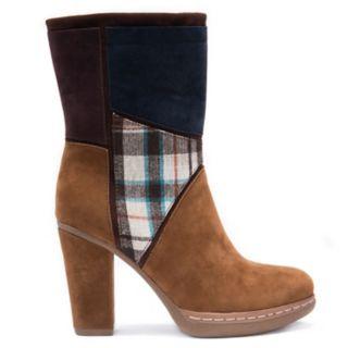 MUK LUKS Nola Women's Water-Resistant High-Heel Boots
