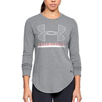 Women's Under Armour Big Logo Crew Long Sleeve Graphic Tee