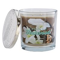 SONOMA Goods for Life™ Vanilla Teakwood 14-oz. Candle Jar