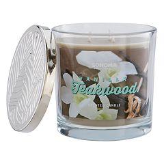 SONOMA Goods for Life™ Vanilla Teakwood 14-oz. Candle Jar