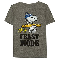 Boys 4-7x Jumping Beans® Thanksgiving Peanuts Snoopy & Woodstock 'Feast Mode' Tee