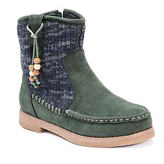 MUK LUKS Kellie Women's Water-Resistant Ankle Boots