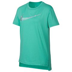 Girls 7-16 Nike Squiggle Swoosh Logo Graphic Tee