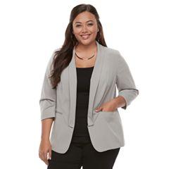 Plus Size Apt. 9® Shawl Collar Blazer