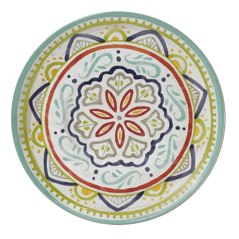 sc 1 st  Kohlu0027s & Food Network™ Medallion Melamine Salad Plate
