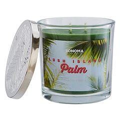 SONOMA Goods for Life™ Lush Island Palm 14-oz. Candle Jar