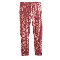 Disney's Minnie Mouse Girls 4-7 Foil Leggings by Jumping Beans®