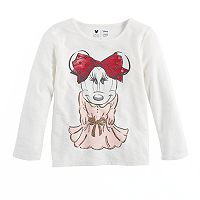 Disney's Minnie Mouse Girls 4-7 Minnie Graphic Long Sleeve Tee by Jumping Beans®
