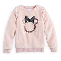 Disney's Minnie Mouse Girls 4-7 Minnie Sequins Graphic Pullover by Jumping Beans®