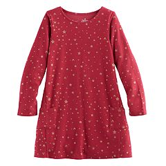 Disney's Minnie Mouse Girls 4-7 Pocket Swing Dress by Jumping Beans®