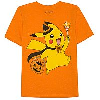Boys 4-7x Jumping Beans® Pokemon Pikachu Halloween Trick-or-Treat Graphic Tee