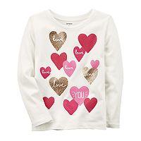 Girls 4-8 Carter's Heart Tee