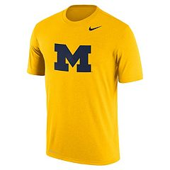 Men's Nike Michigan Wolverines Logo Legend Tee