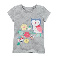 Girls 4-8 Carter's Owl Graphic Tee