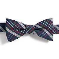 Boys 4-20 Chaps Tartan Plaid Bow Tie