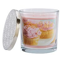 SONOMA Goods for Life™ Pink Velvet Cupcake 14-oz. Candle Jar