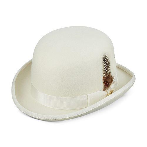 Men's Stacy Adams Wool Felt Derby Hat