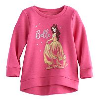 Disney's Bambi Baby Girl High-Low Fleece Lined Pullover Sweater