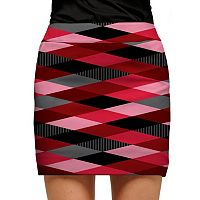 Women's Loudmouth Red Printed Golf Skort