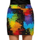 Women's Loudmouth Paint Splatter Golf Skort