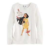 Disney's Pocahontas Girls 4-7 Fringe Graphic Tee by Jumping Beans®