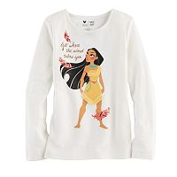 Disney's Pocahontas Toddler Girl Fringe Graphic Tee by Jumping Beans®