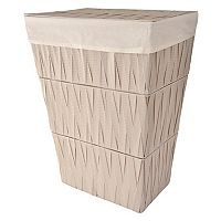 LaMont Home Chevron Clothes Hamper