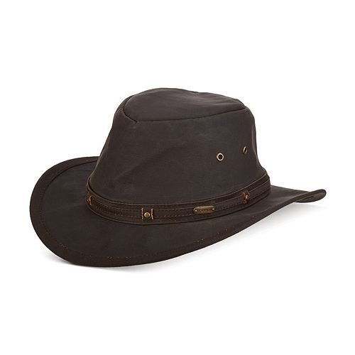10404d5294e22b Men's Stetson Weathered Aussie Outback Hat