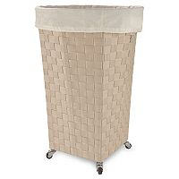 LaMont Home Linden Round Clothes Hamper