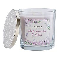 SONOMA Goods for Life™ White Lavender & Cedar 14-oz. Candle Jar