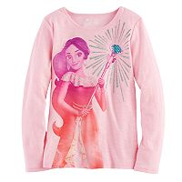 Disney's Elena of Avalor Girls 4-7 Glitter & Rhinestone Scepter Graphic Tee by Jumping Beans®