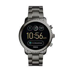 Fossil Men's Q Explorist Gen 3 Stainless Steel Smart Watch - FTW4001
