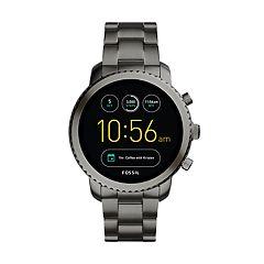 Fossil Men's Q Explorist Gen 3 Stainless Steel Smart Watch - FTW4001