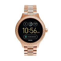 Fossil Women's Q Venture Gen 3 Stainless Steel Smart Watch - FTW6008