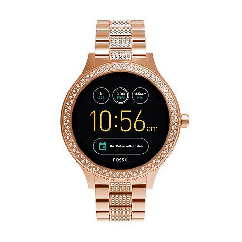 Fossil Women's Q Venture Gen 3 Stainless Steel Smart Watch - FTW6008