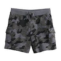 Baby Boy Jumping Beans® Camouflage Slubbed Cargo Shorts