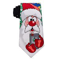 Men's Noel Selfie Santa Tie
