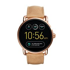 Fossil Women's Q Wander Gen 2 Leather Smart Watch - FTW2102