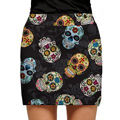 Women's Loudmouth Golf Sugar Skull Skort