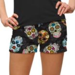 Women's Loudmouth Golf Sugar Skull Mini Short