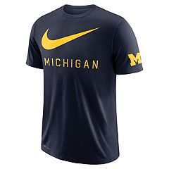 Men's Nike Michigan Wolverines DNA Tee