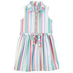 Girls 4-8 Carter's Vertical Stripe Dress