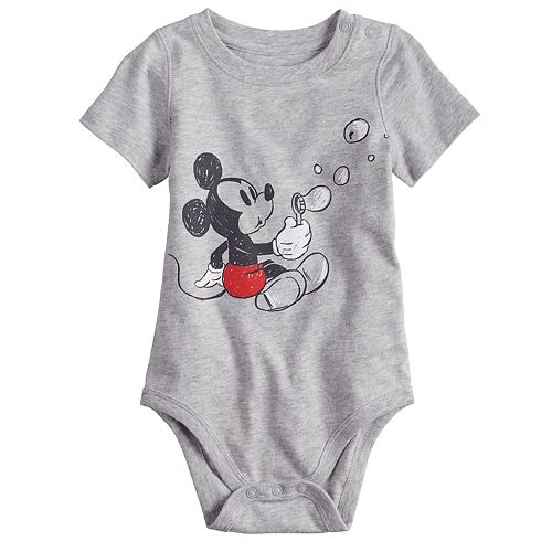 b1315a72a Disney's Mickey Mouse Baby Boy Graphic Bodysuit by Jumping Beans®