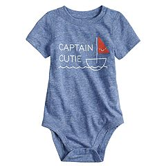 Baby Boy Jumping Beans® 'Captain Cutie' Graphic Bodysuit