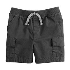 Baby Boy Jumping Beans® Poplin Pieced Cargo Shorts