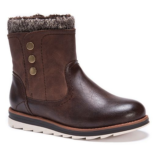 MUK LUKS Hope Women's Water-Resistant Ankle Boots