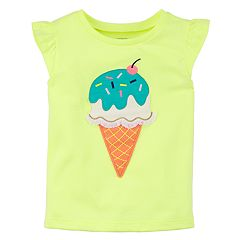 Girls 4-8 Carter's Ice Cream Cone Applique