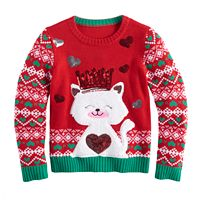 Girls 7-16 It's Our Time Ugly Christmas Sweater