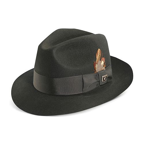 564ec781951 Men s Stacy Adams Cannery Row Wool Felt Fedora